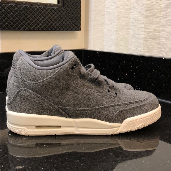 Nike Air Jordan 3 Retro Wool Women s sz 8.5 03b9a5d06